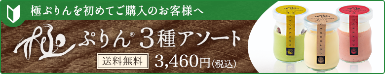 極ぷりんを初めてご購入のお客様へ