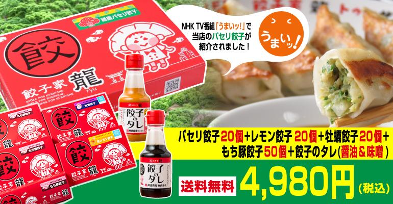 パセリ餃子6点セット