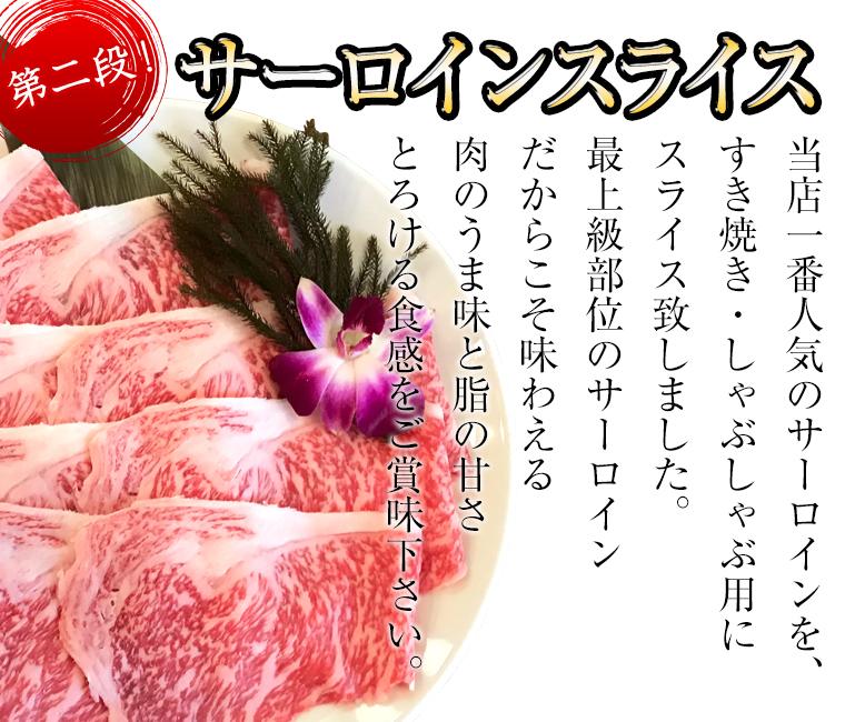 新鮮なお肉を冷蔵でお届け!乙ちゃんの国産A5、A4ランク黒毛和牛メス サーロインスライス