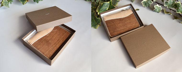 VARCO REALWOOD zipwallet 革製ジップ付き二つ折財布の画像02