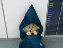 3Mシンサレート災害用スリーピングバッグ(寝袋)フード付きだからプライバシーにも配慮   暖かく薄いのでシーンを選ばずどんな場所でもお使いいただけます。