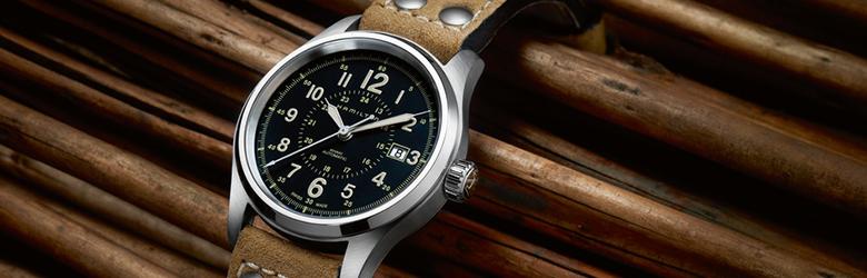 designer fashion c16c1 c3a3b ハミルトン 公式 腕時計 Hamilton Khaki Field カーキ フィールド オート メンズ レザー | 正規品 時計 メンズ腕時計 ...