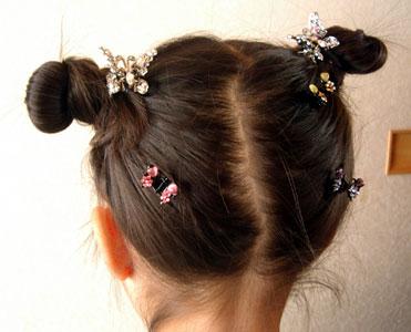 *2014最新 おうちでできる女の子♡浴衣ヘアスタイル集 *子供 幼児 セット 髪\u2026