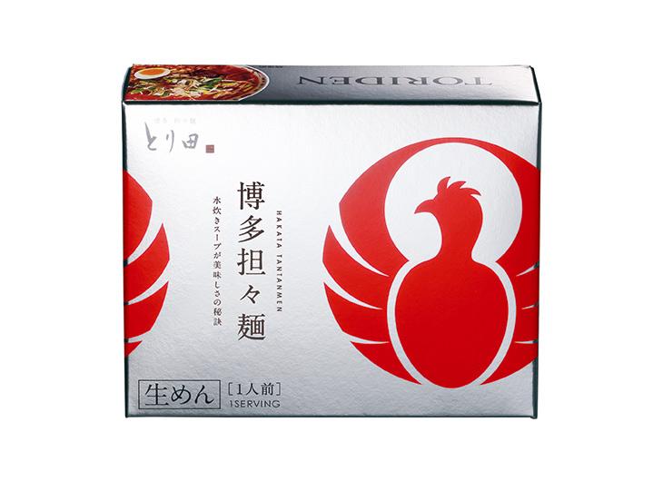 とり田のロゴと上質な味を再現したこだわりのパッケージ