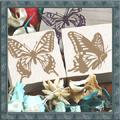 蝶々スタンプ大2個セット