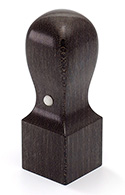 角印/楓BLACK 21.0mm