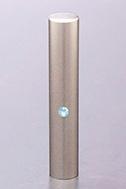 ジュエルズチタン アクアマリン 60x10.5mm