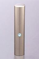 ジュエルズチタン アクアマリン 60x12.0mm