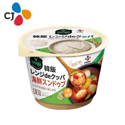 【CJ】bibigo 韓飯 レンジdeクッパ 海鮮スンドゥブ(173.7g )