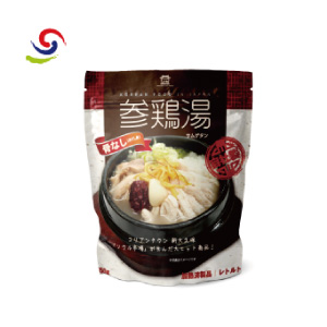 【ソウル市場】レトルト参鶏湯 サムゲタン 1/4サイズ 450g