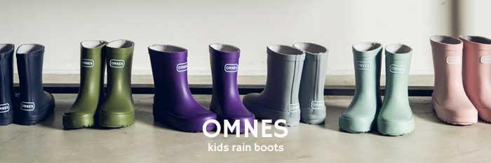 OMNES KIDS RAIN BOOTS