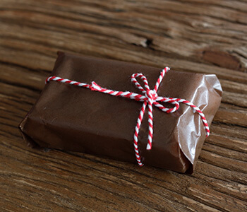 チョコレート テリーヌ ラッピング