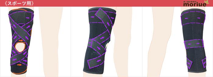スポーツ用膝サポーター/スポーツニーガード