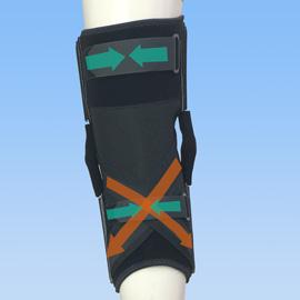 ニーケアー後十字靭帯損傷後ろ