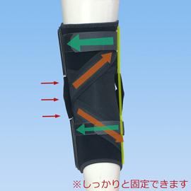 ニーケアー内側側副靭帯損傷後ろ