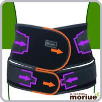 医療用スポーツ用腰痛ベルト/バックレスキューツインベルトチタン