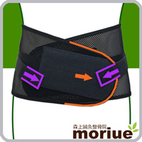 スポーツ用腰痛ベルト/メッシュアクションギア