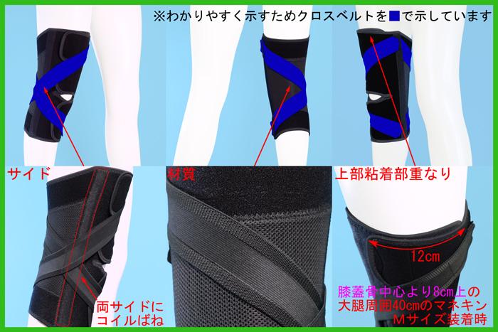 高齢者用膝サポーター/ニーケアー・OA2