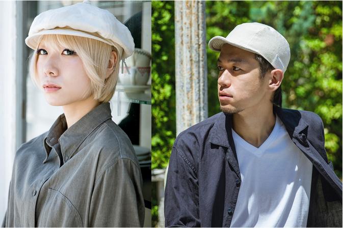 時代に左右されないクリーンビンテージな雰囲気がデザインコンセプトの帽子ブランドのaguru(アグル)