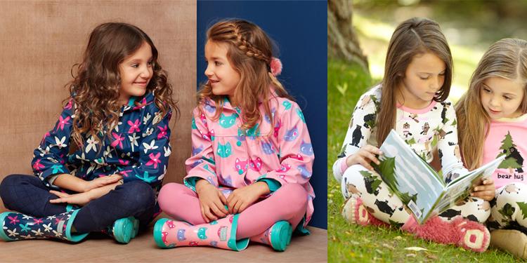 キッズのパジャマシリーズ