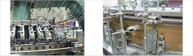 オーガニックコットンブランドMILFOILの製造工程