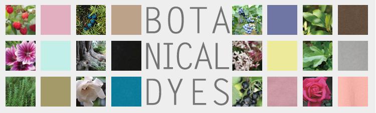 ボタニカルダイ・植物染めについて