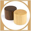 ハーバリウム(浮游花/フユカ)アジサイ、プレミアム、木製キャップ