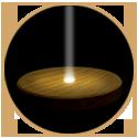 ハーバリウム(浮游花/フユカ)アジサイ、LEDコースター