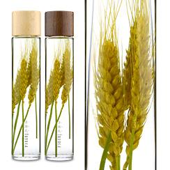 ハーバリウム(浮游花/フユカ)グリーン、プレミアムタイプ、小麦