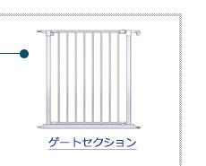 ゲートセクション