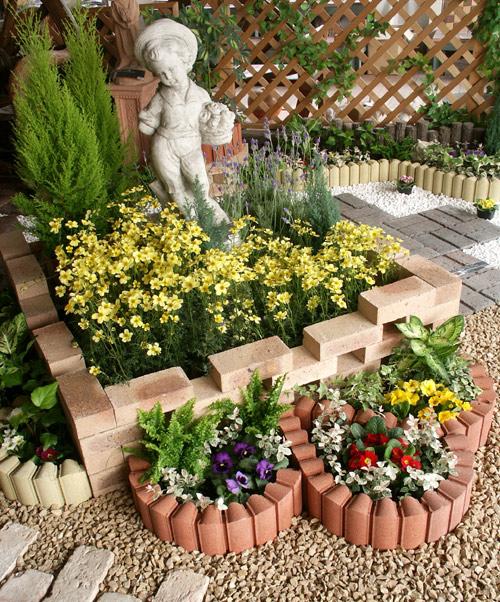 ブロック 花壇