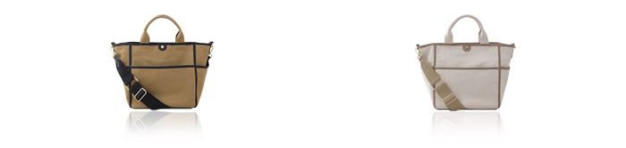 キャンバストートバッグ ショルダーバッグ 横長 マザーズバッグ レディース 【Beate ベアテ】 大人 人気 by HAYNI