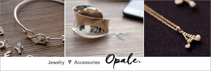 ジュエリー「opale」オパレのページへ