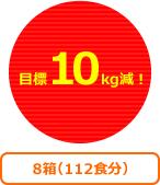 目標10kg減!