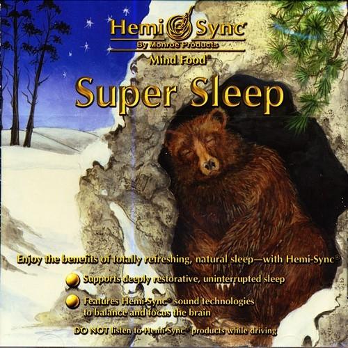 デルタ睡眠時の脳波パターンで深い眠りへあなたを誘うヘミシンクCD スーパー・スリープ【睡眠用ヘミシンクCD】