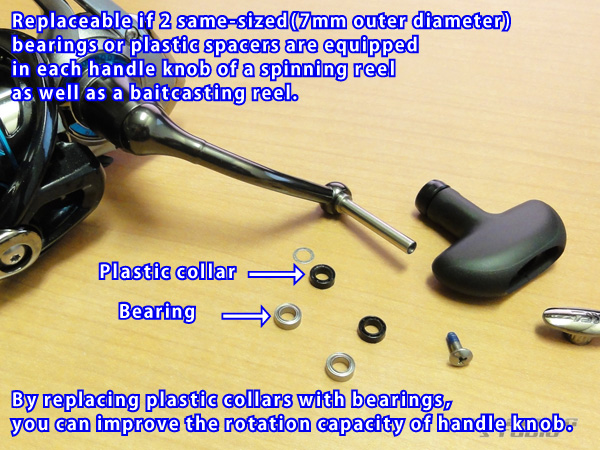 SHIMANO handle knob bearing