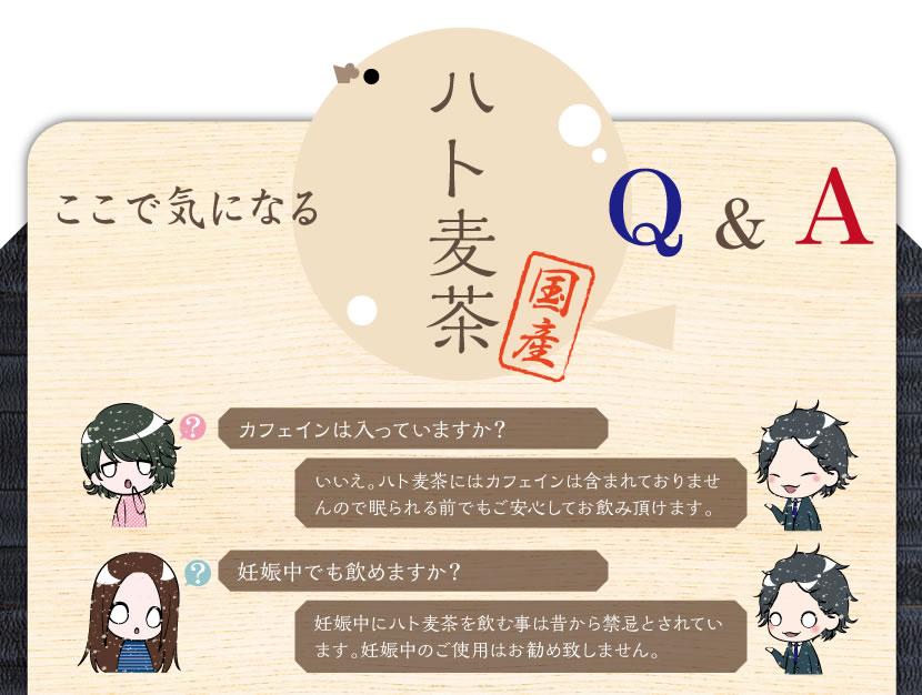 ハト麦茶のQ&A