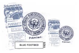 BLUE FOOTBED 1925