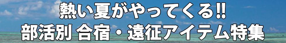夏合宿・遠征表題
