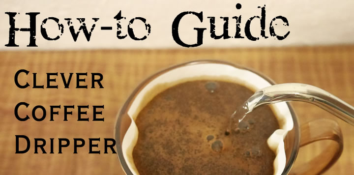 コーヒー通販 自家焙煎店ヒロコーヒー クレバーコーヒードリッパー淹れ方