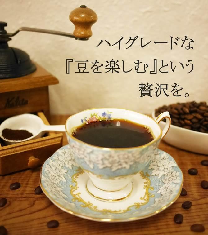 コーヒーにも旬という考え方を。