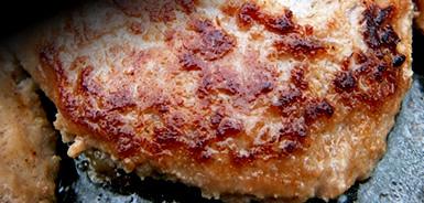 テレビで話題!牛肉100%手造り牛生ハンバーグ