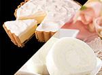石屋製菓「白いロールケーキ」と新谷「ふらの雪どけチーズケーキ」セット