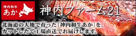 ステーキ・すき焼き・しゃぶしゃぶ・焼肉 国産赤毛和牛「神内和牛あか」