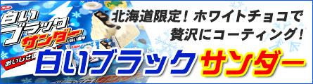 北海道のホワイトチョコレートを贅沢に使った白いブラックサンダー