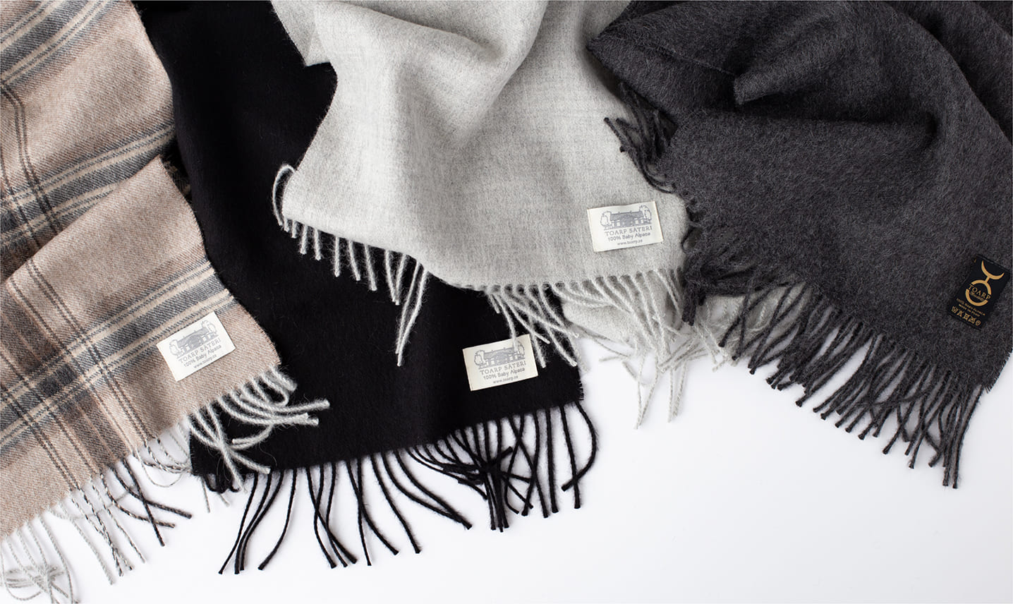 Aplaca & Cashmere & Wool Scarves, Stole