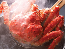 「蟹の匠」茹で上げ本タラバガニ