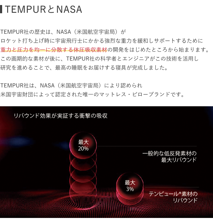 TEMPURとNASA