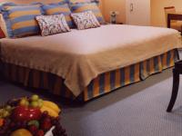 ホテルのベッドスカート