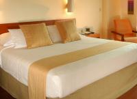 一流ホテルのベッド用クッション 円柱型(円筒形)クッション キャンディクッション ボルスター クッションカバー